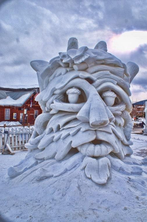Breckenridge Ice Sculptures