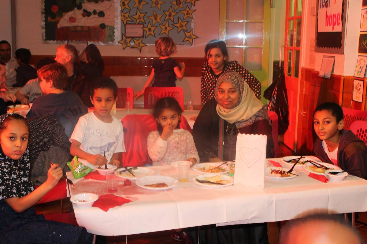 Family Supper  Brecknock Primary School