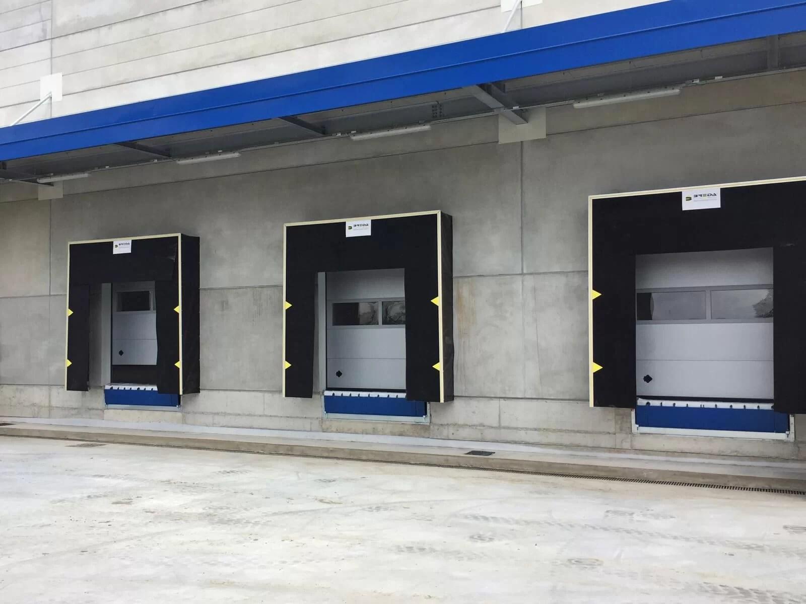 Punti di carico Breda - PORTALE ISOTERMICO