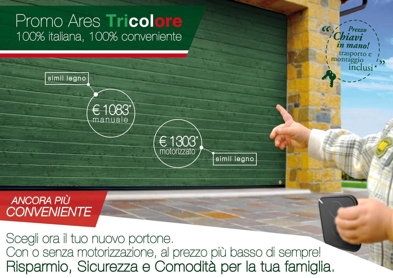 Promo Ares Tricolore verde simil legno