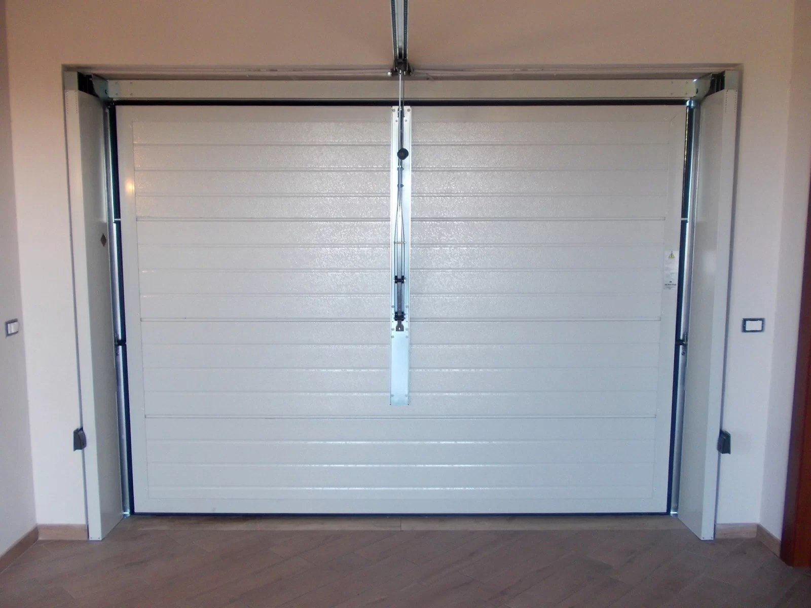 Portone basculante da garage SWING - Vista interna