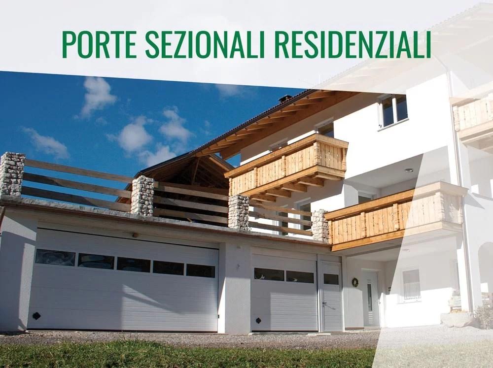 Porte Sezionali residenziali
