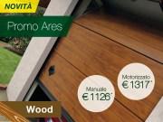 Portoni sezionali Breda, giù i prezzi con la promozione Ares Wood