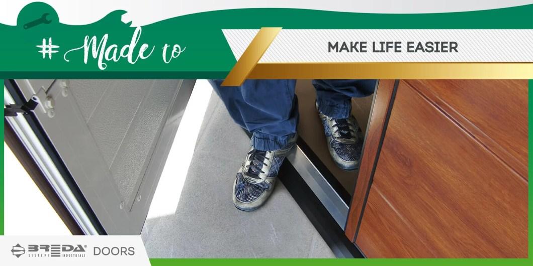 Breda doors, made to make life easier