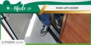 #MadeTo make life easier! Breda Doors with Pedestrian Door.