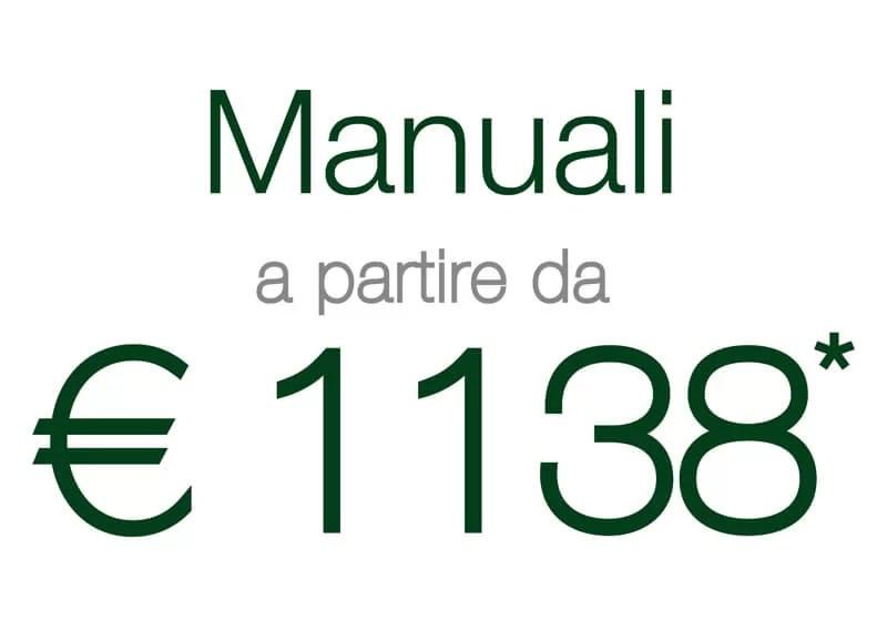 Portone Ares manuale 1138 euro