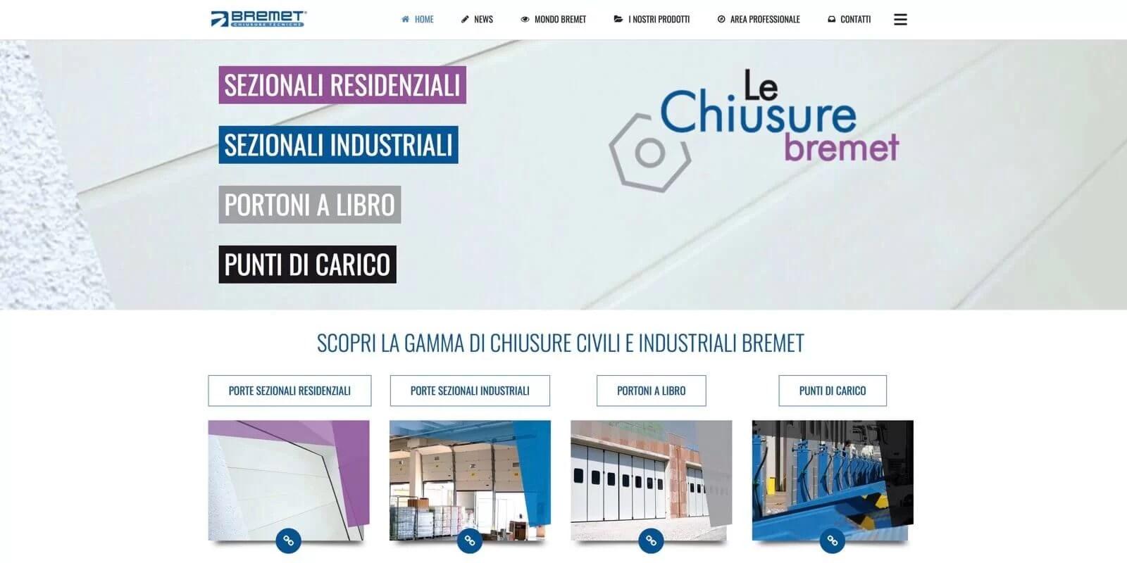 Homepage Bremet Portoni