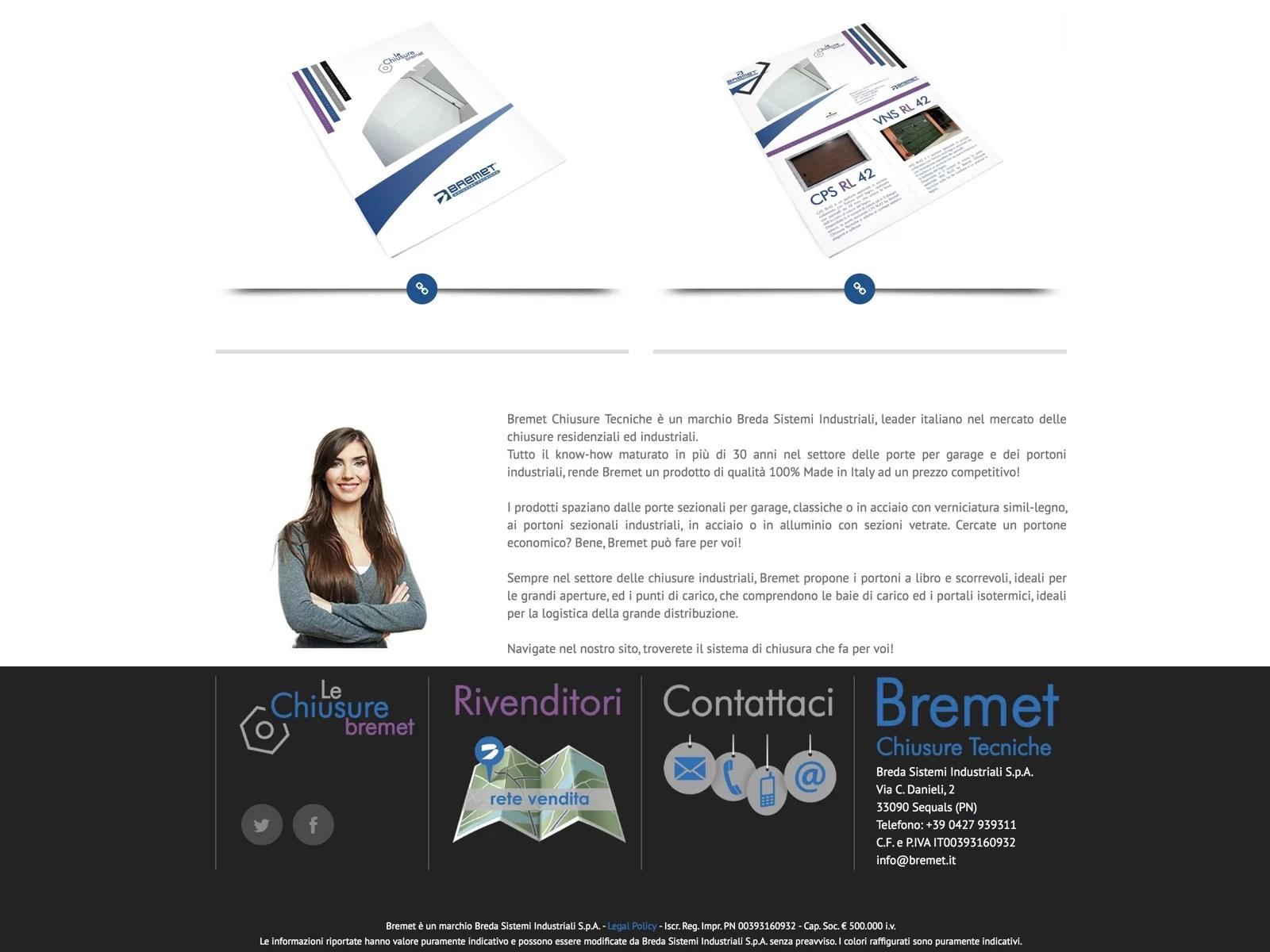 Bremet, marchio Breda Sistemi Industriali S.p.A.