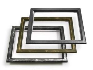 In ABS 525x350 trasparente, cromo maculato, bronzo e carbonio