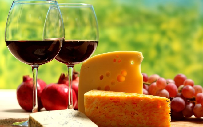 Come along to our cheese and wine evening on April 16
