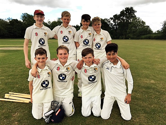 The Under 13s had a convincing win against Alcester and Ragley and secured a place in the semi-final
