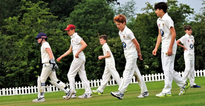 On the front foot. Bredon Under 13s enjoyed a comfortable win over Cookhill