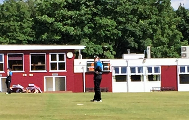 Rachel, pictured in her Worcestershire kit, will make her home-ground debut for the girls Under 17s on Sunday