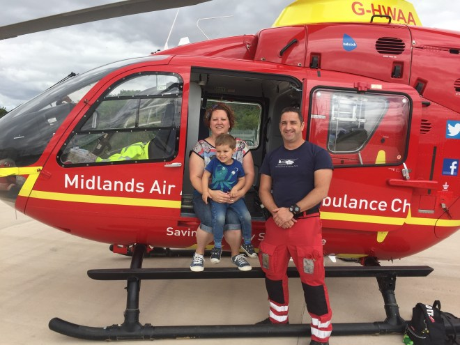 Bredon Cricket Club's donation to Midlands Air Ambulance