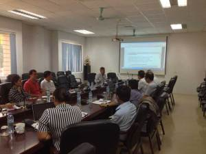 KoM in Hanoi joining research staff from Vietnamese partners VAAS NOMAFSI and AGI and Cirad Breedcafs eu funded project