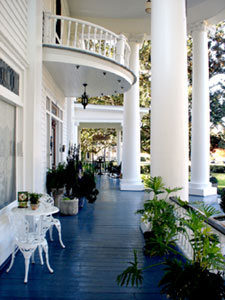 Southern Porches  Breeden Inn Bed and Breakfast