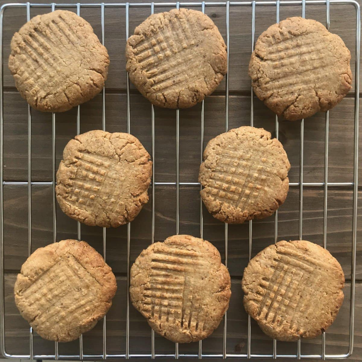 Soft and Healthy Vegan Peanut Butter Cookies