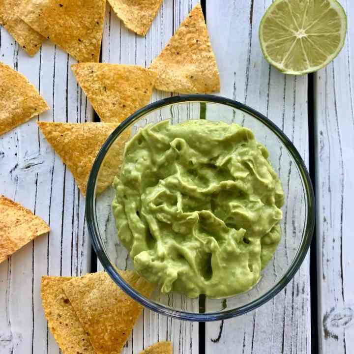 healthy guacamole recipe photo