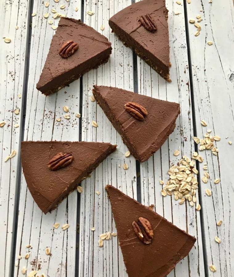 Chocolate Sweet Potato Pie (Vegan and Gluten-Free)