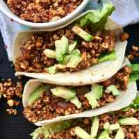 Tofu Crumble for Vegan Tacos