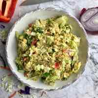 Healthy Vegan Chickpea Salad (No Mayo)