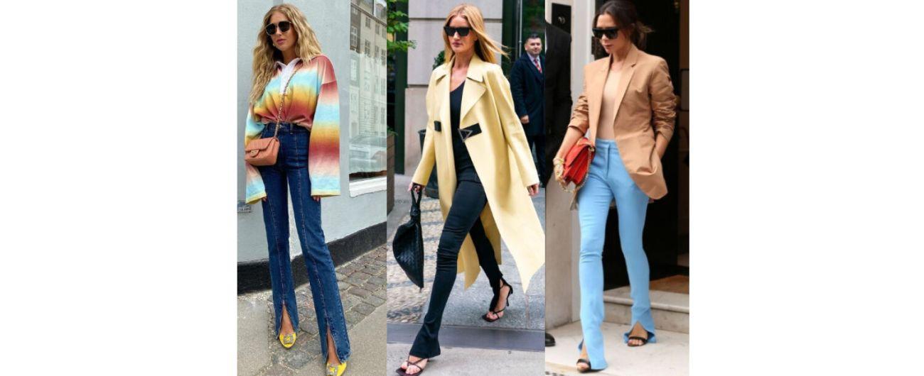時尚-開衩褲穿搭-時尚穿搭