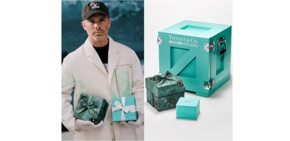 Tiffany&Co.攜手廢墟藝術家Daniel Arsham打造限量雕塑創作