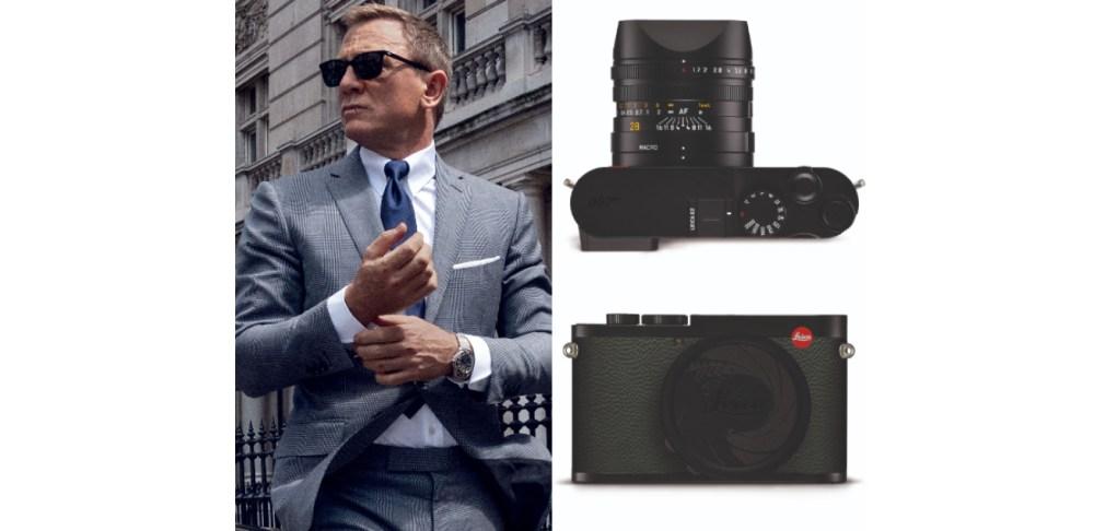 《007:生死交戰》上映在即,龐德女郎來來去去,唯獨對OMEGA很專情;龐德不離手的配備,其實還有徠卡相機!