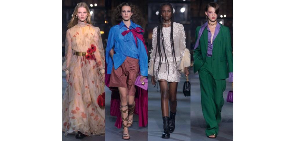 【2022春夏巴黎時裝週】VALENTINO將秀場搬上街,運用鮮豔色彩、浪漫花卉與高訂布料,帶我們重拾生活中的美好想像
