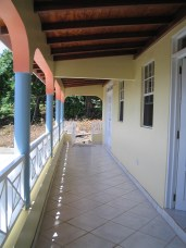 Porch at Guest House