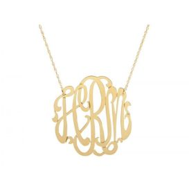 Monogram Necklace. There are so many different monogram pieces available. Ask for one with your favorite teams initials for game day.