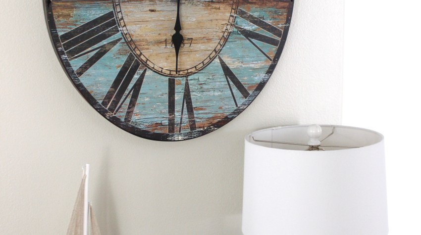 Coastal Wall Clock.