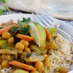 Gluten Free Chickpea Coconut Curry (Cleaning Out Your Pantry Series)