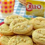 These Gluten Free Lemon Cheesecake Pudding Cookies are soft and chewy gluten free cookies flavored with lemon pudding mix and a mix-in of white chocolate chips.
