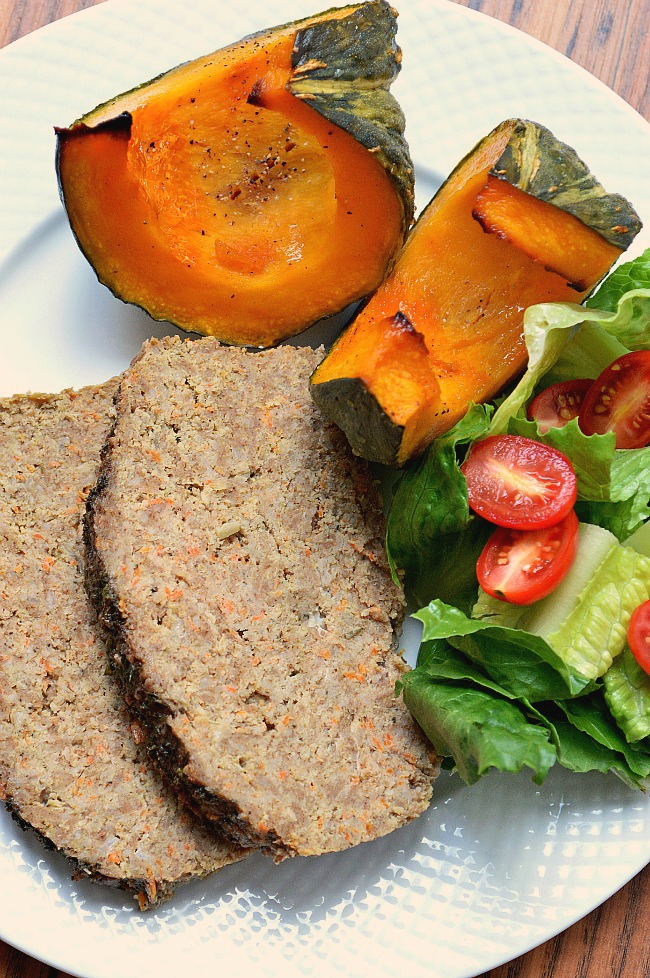 Bring some happiness to your soul with this comfort food makeover. There's nothing like a Gluten Free Apple & Sage Turkey Meatloaf for dinner to bring your family together and welcome Fall!