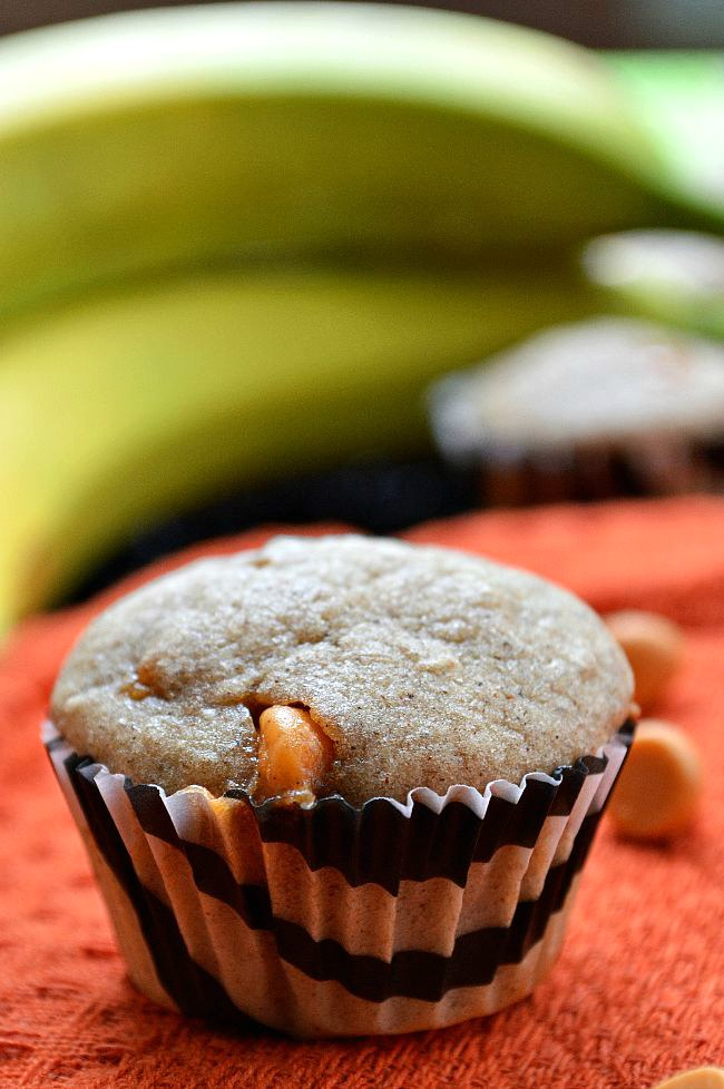 For a whole grain, low sugar snack or breakfast, these Gluten Free Buckwheat Butterscotch Banana Muffins are a great option. Sweetened with pure maple syrup, bananas, and only a handful of butterscotch morsels.