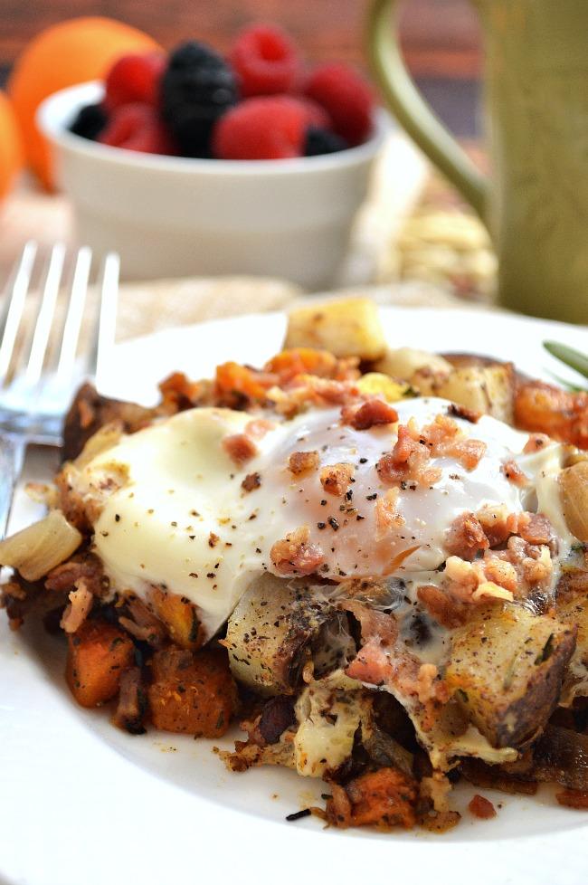 butternut squash potato hash