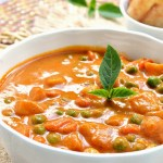 Roasted Red Pepper Coconut Curry