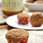 Gluten Free Almond Butter Applesauce Muffins