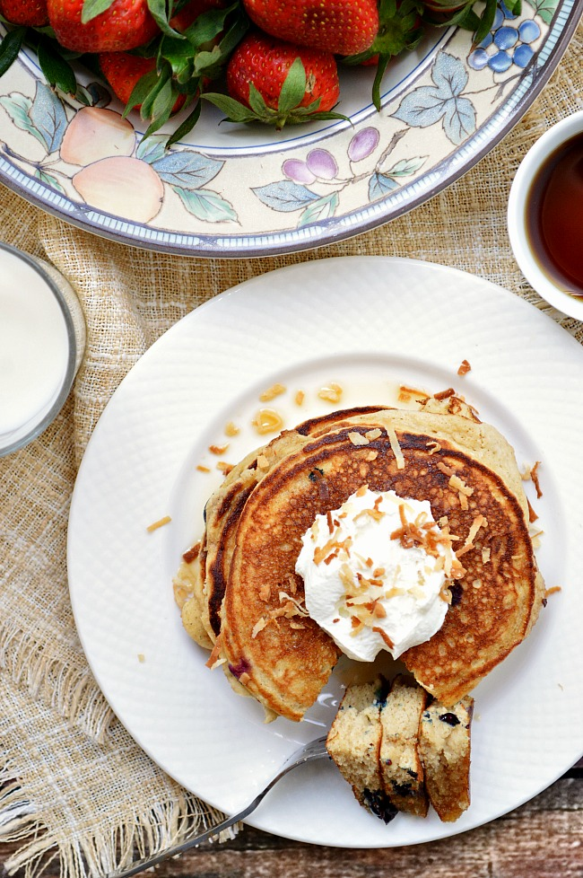 Good morning sunshine! How about some of the best gluten free pancakes you've ever had??? Try these Gluten Free Perfectly Fluffy Pancakes and add whatever mix-ins that make you happy.