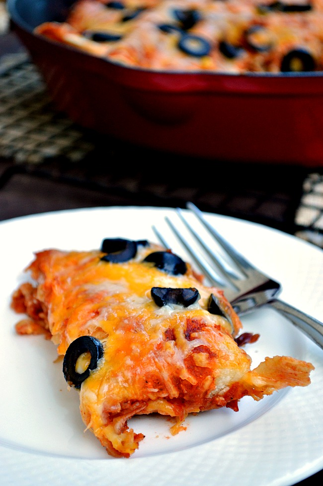 Thanks to McCormick taco seasoning, you can whip up these healthy, from scratch Gluten Free Smokey Vegetarian Enchiladas in no time. Limited ingredients with unlimited flavor!