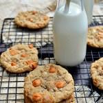 Gluten Free Butterscotch Oatmeal Cookies