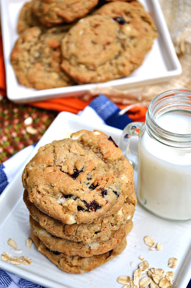 White Chocolate Chip Tang Cookies