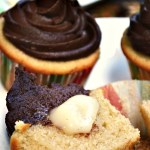 The perfect combo of sweet vanilla with smooth milk chocolate is what makes these Gluten Free Boston Cream Pie Cupcakes so addictive. A tender vanilla cake filled with vanilla bean pudding and swirled with a sweet chocolate buttercream.