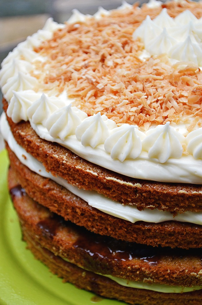 If you think you've had carrot cake the right way, you are wrong!!! You'll never turn back after trying this insanely delicious Gluten Free Carrot Cake with Pineapple Apple Craisin Compote. Plus, who doesn't love a little tangy cream cheese frosting???