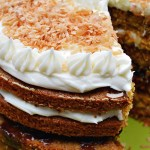 Gluten Free Carrot Cake with Pineapple Apple Craisin Compote