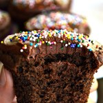 If you're looking for a slightly healthier treat, get ready for these Gluten Free Lower Fat Chocolaty Chocolate Cupcakes. They're sure to rock your world...and your party!