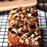Gluten Free Old-Fashioned Oatmeal Raisin Banana Bread