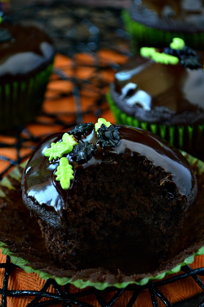 Enjoy the rich chocolatey flavor of these Gluten Free Dark Chocolate Zucchini Banana Muffins. They're so delicious you may consider them a cupcake. Ooops...