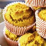 Gluten Free Pumpkin Cornbread Muffins